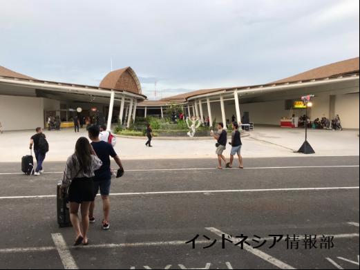 バリの空港の写真