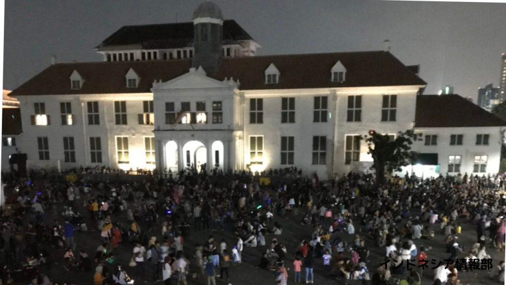 カフェ・バタビアから見下ろすファタヒラ広場
