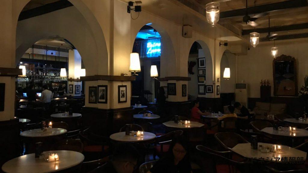 カフェ・バタビアの1階の写真