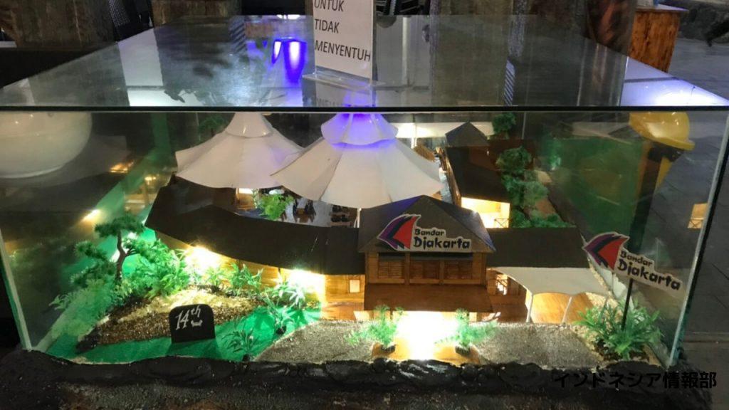Bandar Djakarta Ancolの模型の写真